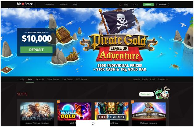 bitstarz online casino AUD