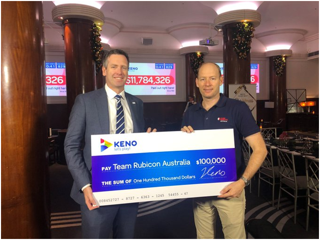 check keno ticket- redeem the prize